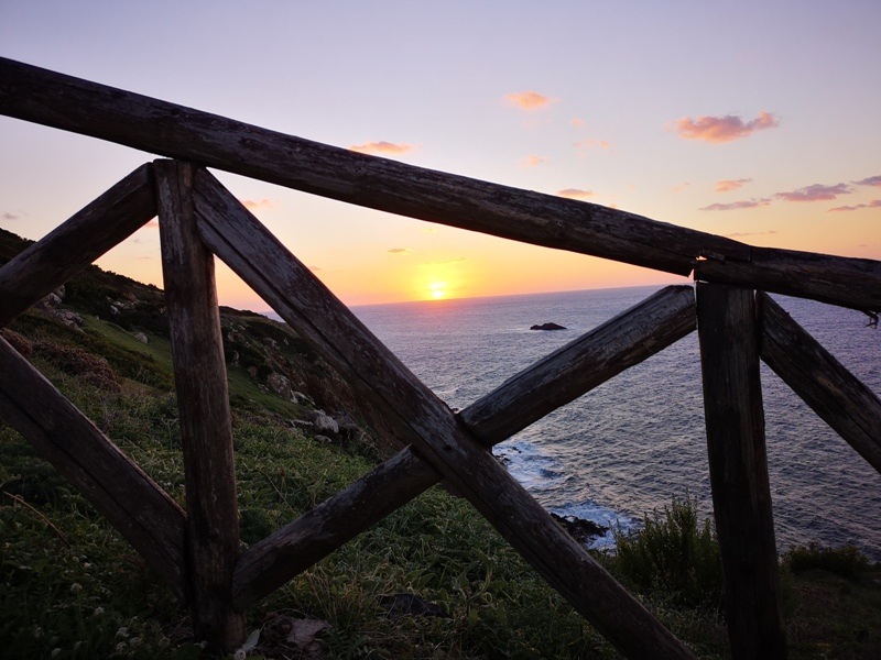 Ustica, tramonto, Passo, Madonna