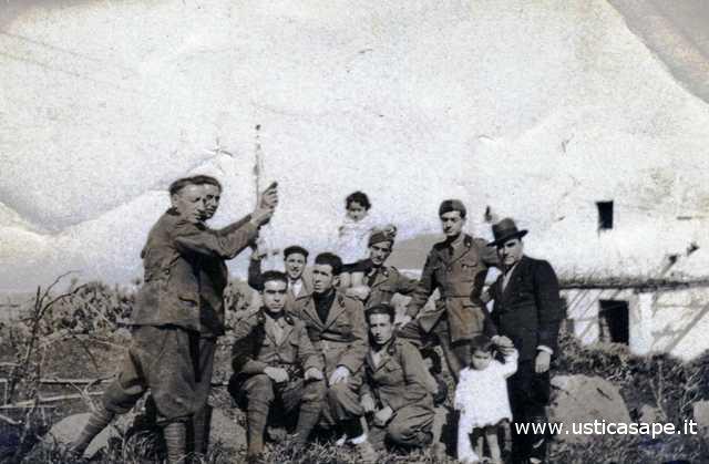 Casa Intordonato, gorgo gaezza, - gruppo militari