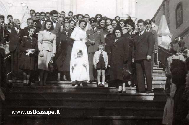 Ustica, matrimonio Caserta - La Valle