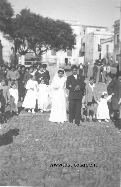 Ustica, matrimonio