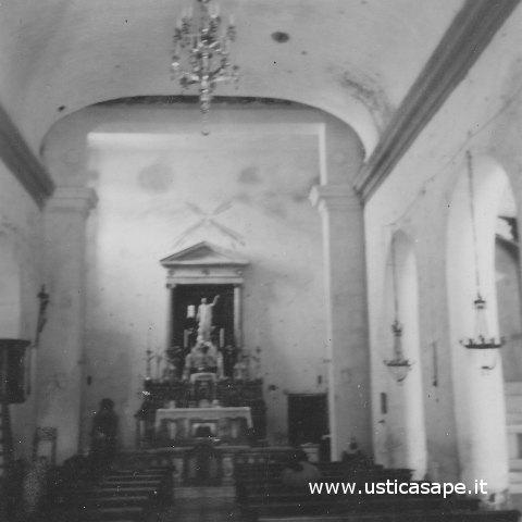 Ustica, antica volta chiesa