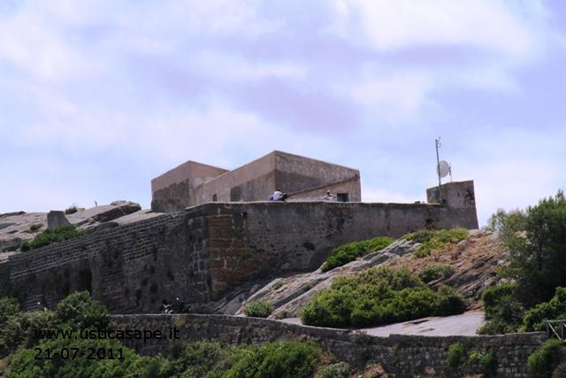 Ustica, Rocca della Falconiera
