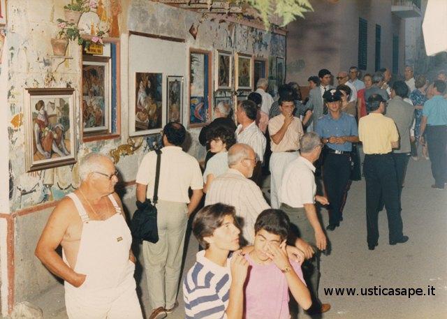 Ustica bottega d'arte, inaugurazione mostra Bramante