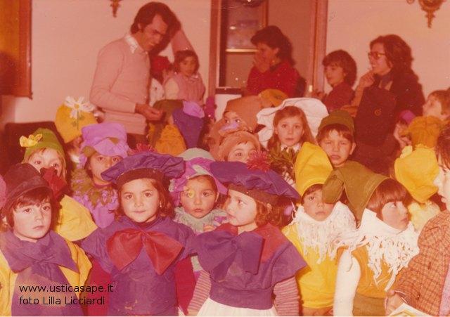 Ustica, festa di Carnevale alla scuola dell'Infanzia - visita del sindaco