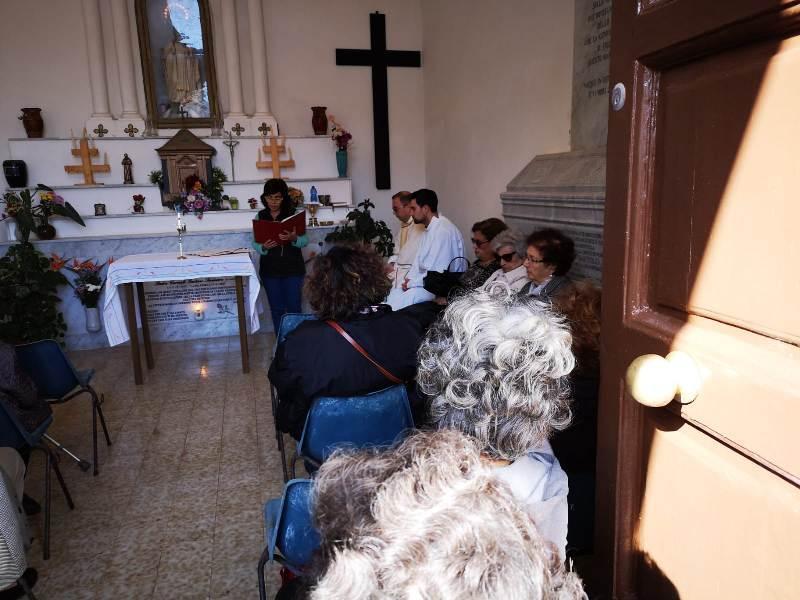 Ustica, Santa, Messa, suffragio , Defunti