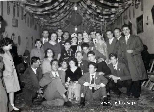 Ustica Settebello, divertimenti di Carnevale
