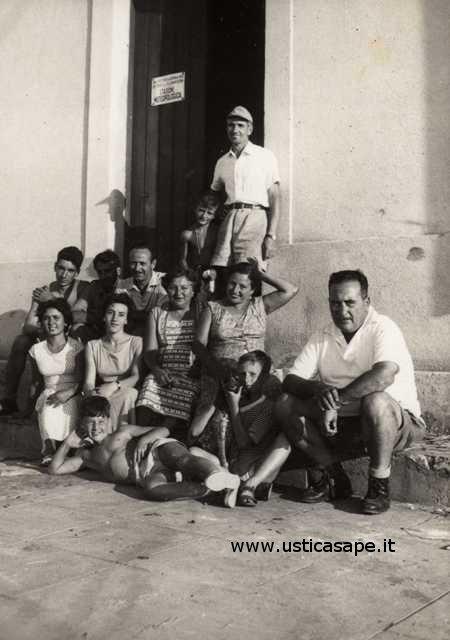 Foto ricordo famiglia La Valle