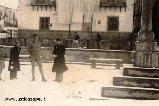 Nevicata ad Ustica