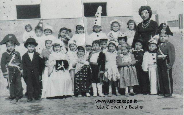 Ustica, Carnevale 1955