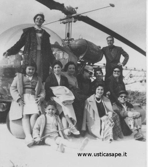 Ustica,  Foto, elicottero