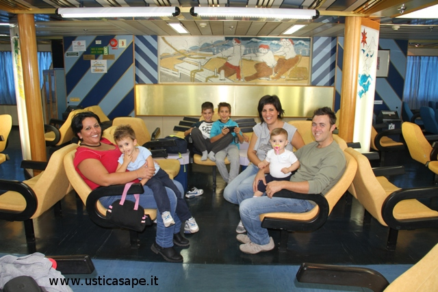 Tranquillo e piacevole viaggio sulla Nuova Ustica