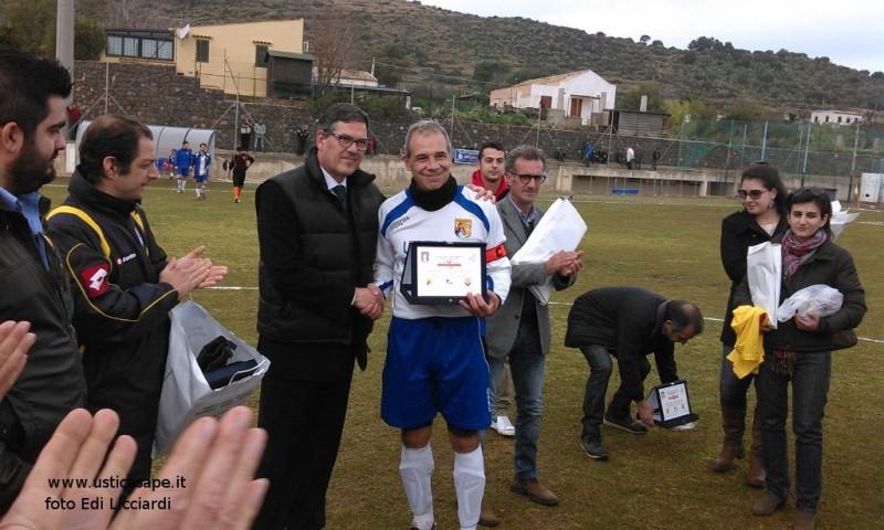 Ustica campionato di calcio - premiazione