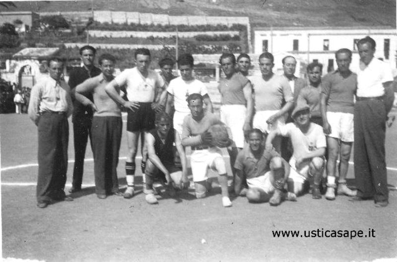 Ustica, presentazione squadra di calcio