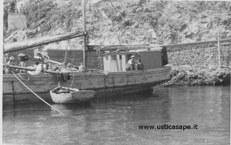 Ustica, veliero San Giuseppe
