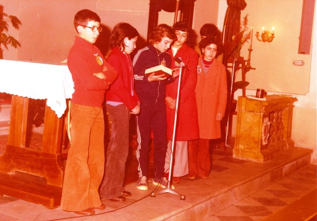 Chiesa Ustica, ragazzi leggono passi del Vangelo