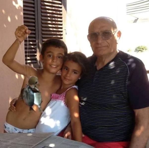 Ustica,  nonno, insegnava,   pescare