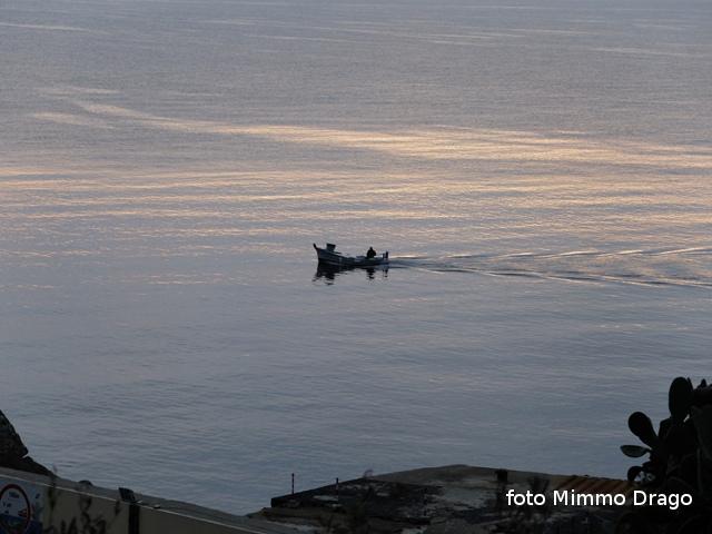 Ustica, rientro, barca, pescatore