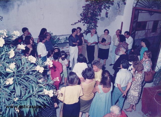 Ustica, inaugurazione mostra