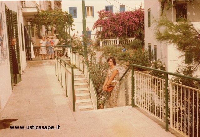Ustica, dal terrazzodell' Ufficio Postale