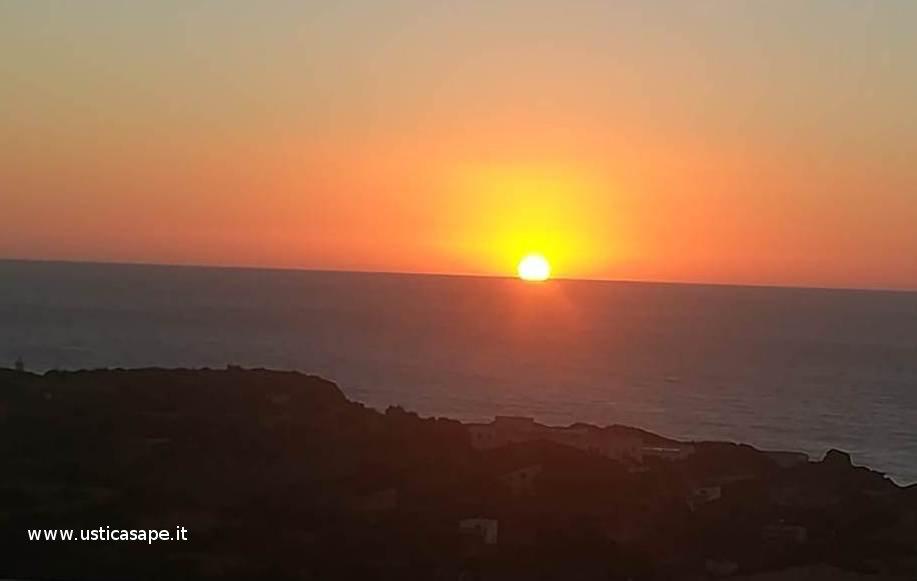 Ustica Spalmatore, tramonto