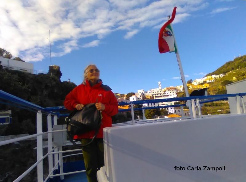 Ustica, un arrivederci al prossimo ottobre da Carla e Giorgio Zampolli