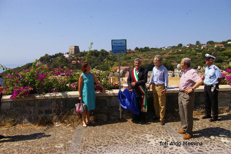 Inaugurazione belvedere G. Scalarini