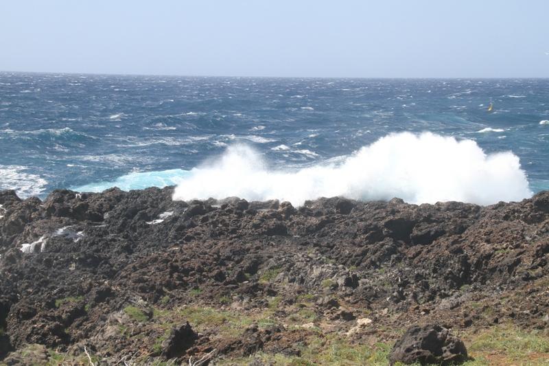Ustica zona AMP - mare molto mosso