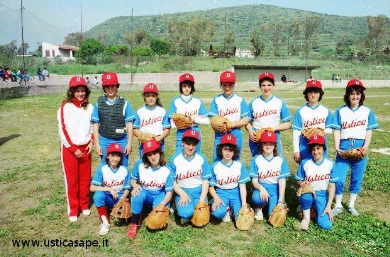 squadra giovanile di softball
