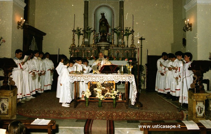 Ustica, Santa, Messa, Apostoli