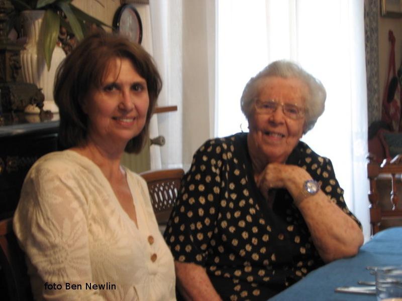 Rosa fa visita alla cugina Maria Bertucci Giordano - per ricordare!...