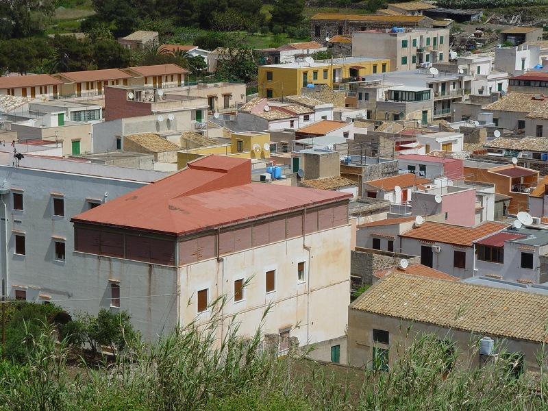 Ustica, vista da Gorgo  Gaezza