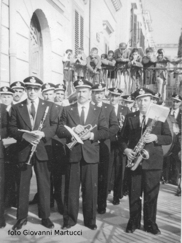 Ustica, Banda musicale anni '50