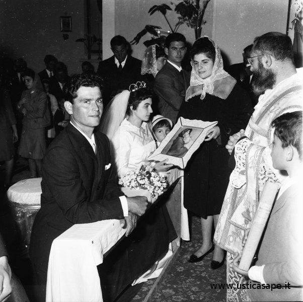 matrimonio Antonino Palmisano e Giardino Maria