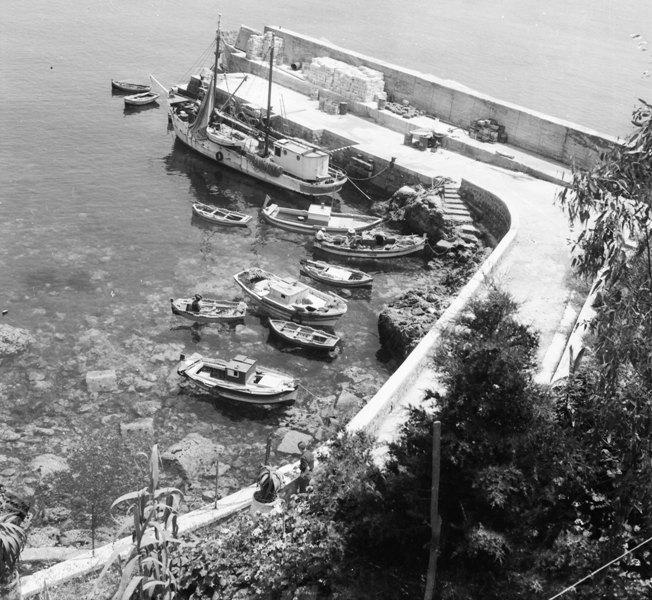 Ustica, Cala Santa Maria, marineria