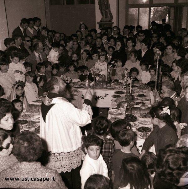 Ustica anni 60 San Giuseppe