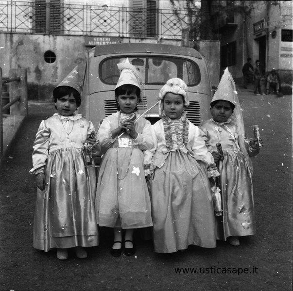 Ustica, Carnevale, 1964, album, ricordi