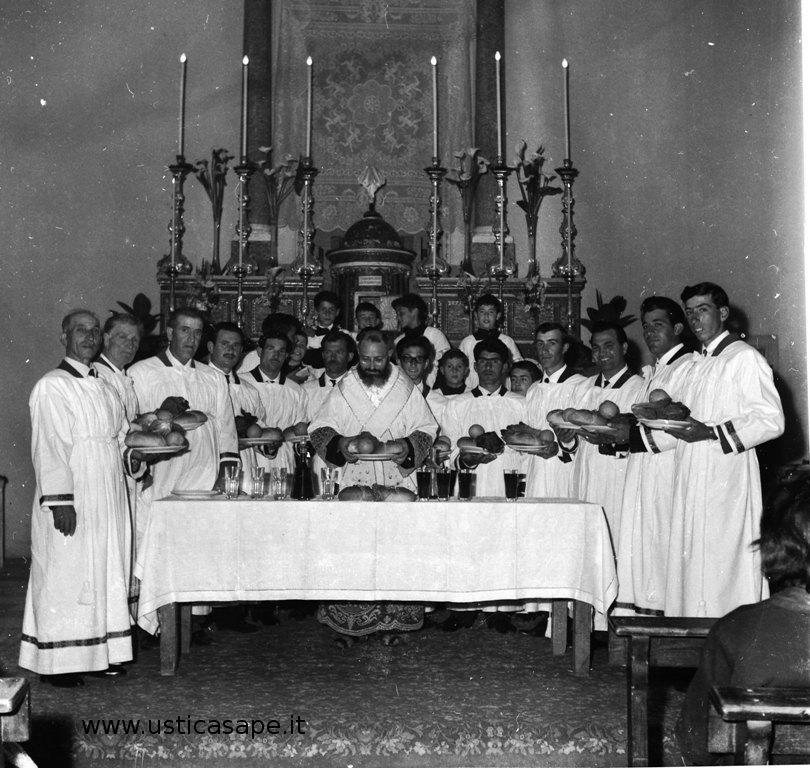 Ustica, Apostoli e chierichetti anni '60