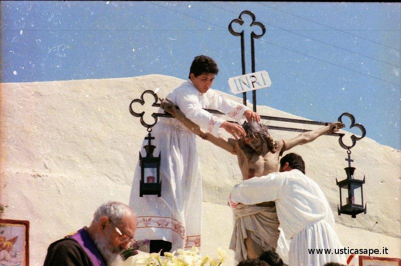 Ustica, Crocifissione di Gesù