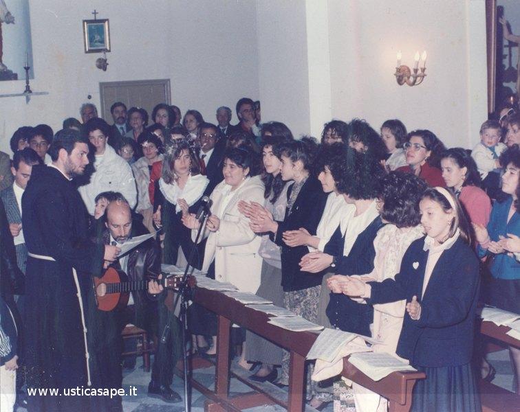 Ustica, Messa molto partecipata con canto liturgico del Gloria a Dio