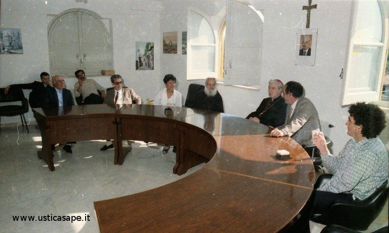 aula consiliare, incontro con il Cardinale di Palermo