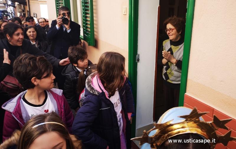 Maria Giuffria dispiaciuta per non aver dato ospitalità alla Sacra Famiglia
