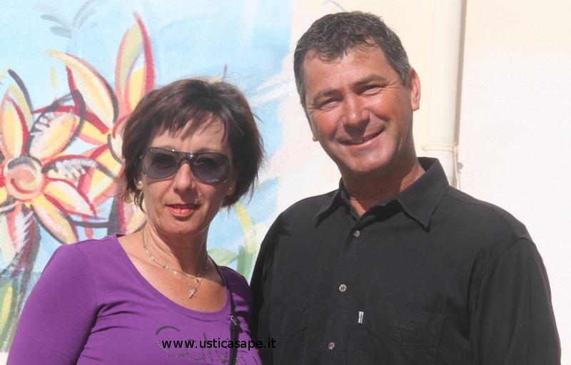 Bartolo con la moglie
